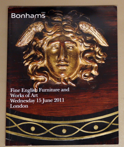Image for Fine English Furniture and Works of Art. Auction: Wednesday 15 June 2011