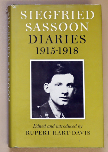 Image for Siegfried Sassoon Diaries 1915 - 1918