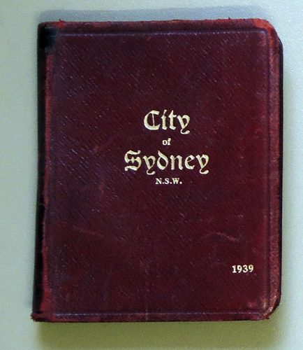 Image for City of Sydney N.S.W.: The Municipal Council of Sydney. 'Vade Mecum', 1939