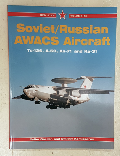 Image for Red Star Volume 23: Soviet / Russian AWACS Aircraft
