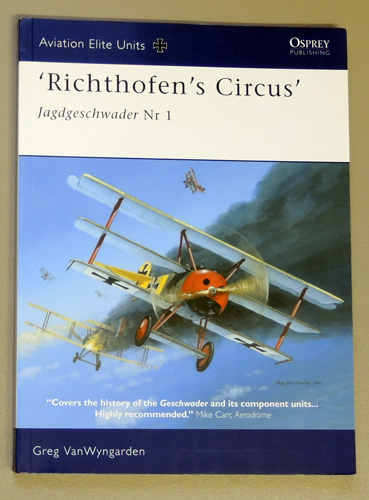 Image for Aviation Elite Units No.16: Richthofen's Circus: Jagdgeschwader Nr I