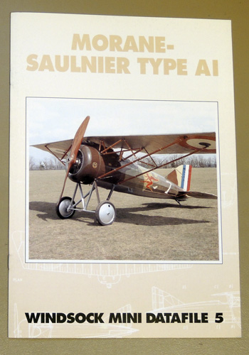 Image for Windsock Mini Datafile No. 5: Morane-Saulnier Type AI