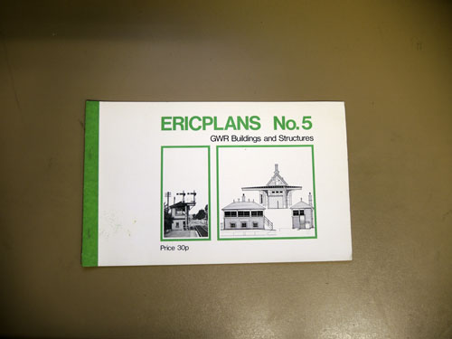 Image for Ericplans No.5: GWR Buildings and Structures
