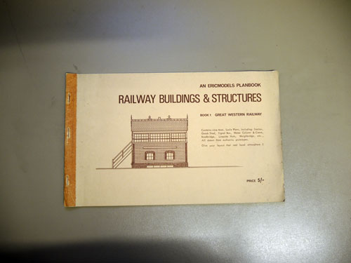 Image for Ericplans No.1: GWR Buildings and Structures
