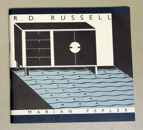 Image for R D Russell, Marian Pepler