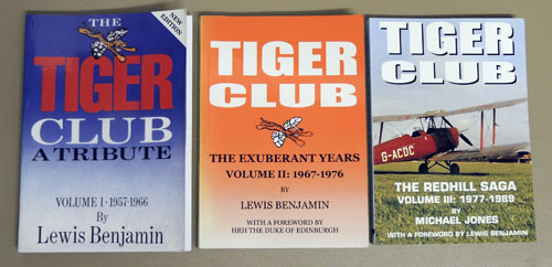 Image for Tiger Club (3 Volume Set). Volume I: A Tribute 1957 - 1966; Volume II: The Exuberant Years 1967 - 1976; Volume III: The Redhill Saga 1977 - 1989