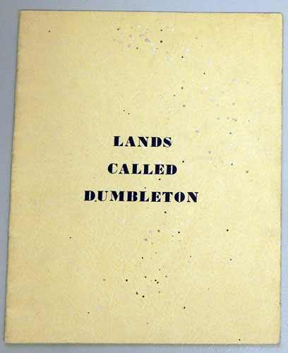 Image for Lands Called Dumbleton