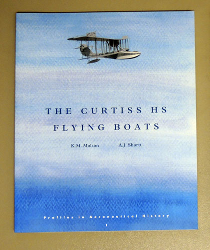 Image for The Curtiss HS Flying Boats (Profiles in Aeronautical History)