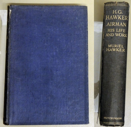 Image for H.G. Hawker, Airman: His Life and Work