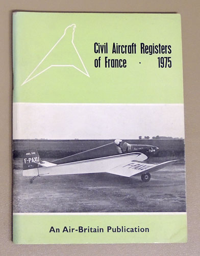 Image for Civil Aircraft Registers of France 1975
