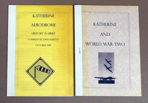 Image for Katherine Aerodrome: History in Brief PLUS Katherine and World War Two
