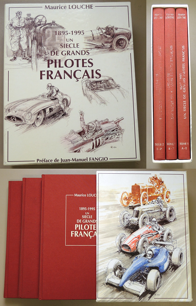 Image for 1895 - 1995: Un Siecle de Grands Pilotes Français (3 Volume Set in Slipcase)