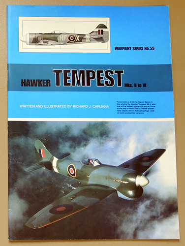 Image for Warpaint Series No.55: Hawker Tempest  Mks II to VI