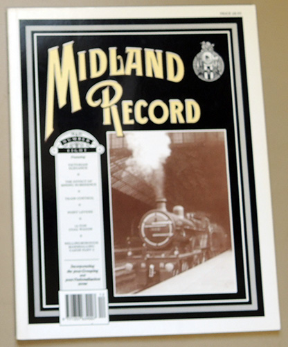 Image for Midland Record Number Eight (8): Featuring Victorian Elegance; The Effect of Mining Subsidence; Train Control; Point Levers; 12-Ton Coal Wagon; Wellingborough Marshalling Yards Part 2
