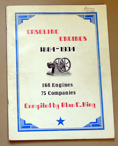 Image for Gasoline Engines 1884 - 1934. 168 Engines, 75 Companies