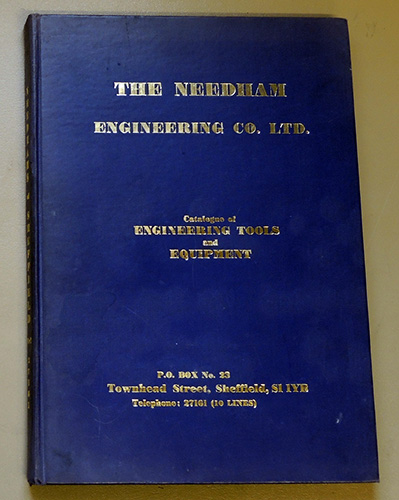 Image for Catalogue of Engineering Tools and Equipment. 5th Edition.
