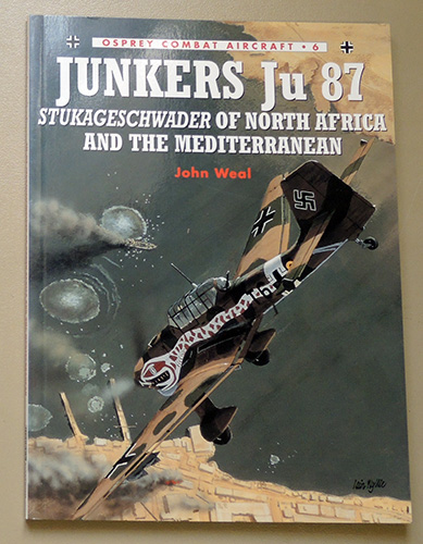 Image for Osprey Combat Aircraft No.6: Junkers Ju 87 (Ju87): Stukageschwader of North Africa and the Mediterranean