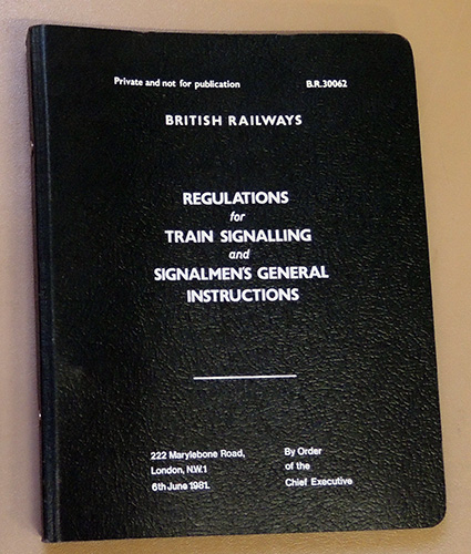 Image for Regulations for Train Signalling and Signalmen's General Instruction (B.R. 30062)