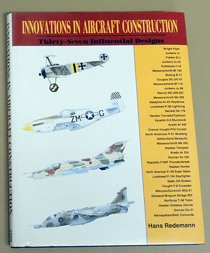 Image for Innovations in Aircraft Construction: 37 (thirty-seven) Influential Designs.