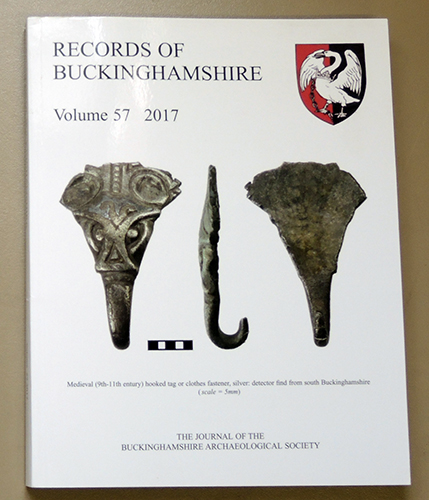 Image for Records of Buckinghamshire: Being the Journal of the Architectural and Archaeological Society for the County of Buckingham. Volume 57: 2017