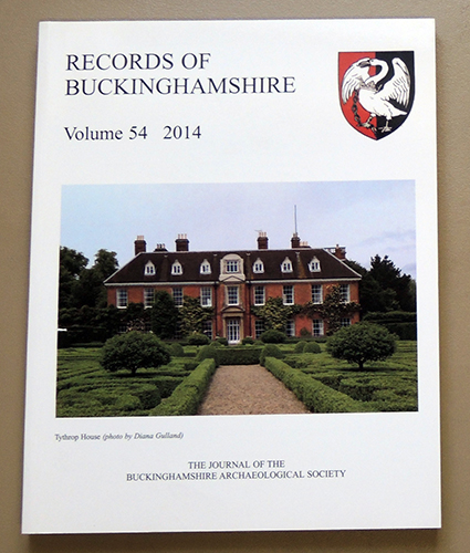 Image for Records of Buckinghamshire: Being the Journal of the Architectural and Archaeological Society for the County of Buckingham. Volume 54: 2014