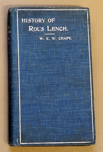 Image for A Short History of Rous Lench