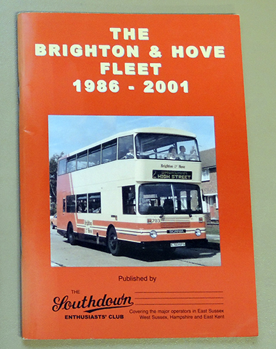 Image for The Brighton & Hove Fleet 1986 - 2001