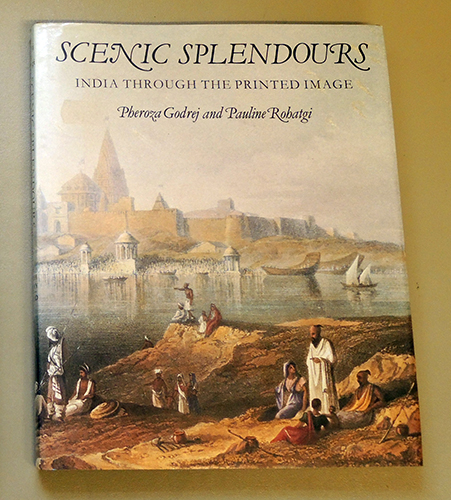 Image for Scenic Splendours: India Through the Printed Image