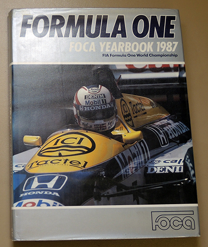 Image for Formula One FOCA Yearbook 1987