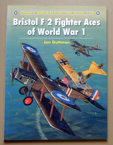 Image for Osprey Aircraft of the Aces No. 79: Bristol F 2 Fighter Aces of World War 1