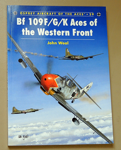 Image for Osprey Aircraft of the Aces No. 29: Bf 109F/G/K Aces of the Western Front