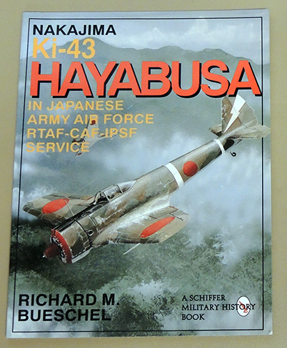 Image for Nakajima Ki-43 Hayabusa in Japanese Army Air Force RTAF-CAF-IPSF Service