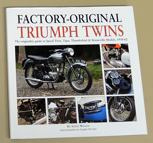 Image for Factory-Original Triumph Twins: The Originality Guide to Speed Twin, Tiger, Thunderbird & Bonneville Models 1938-62