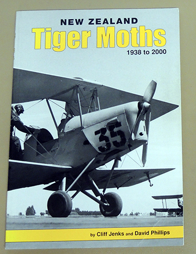 Image for New Zealand Tiger Moths, 1938 to 2000
