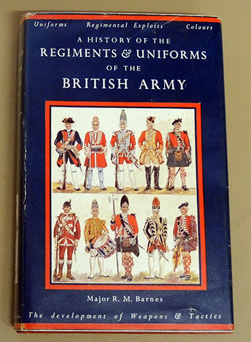 Image for A History of the Regiments & Uniforms of the British Army