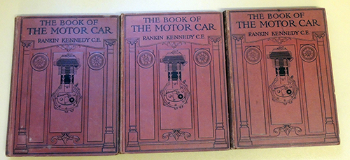 Image for The Book of the Motor Car: A Comprehensive and Authoritative Guide on the Care, Management, Maintenance, and Construction of the Motor Car and Motor Cycle. (3 Volumes)