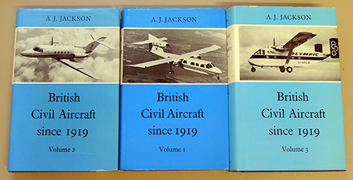 Image for British Civil Aircraft Since 1919. 3 Volume Set. Second Edition.