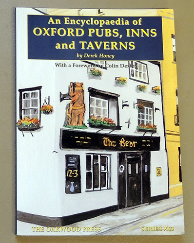 Image for Series X63: An Encyclopaedia of Oxford Pubs, Inns and Taverns