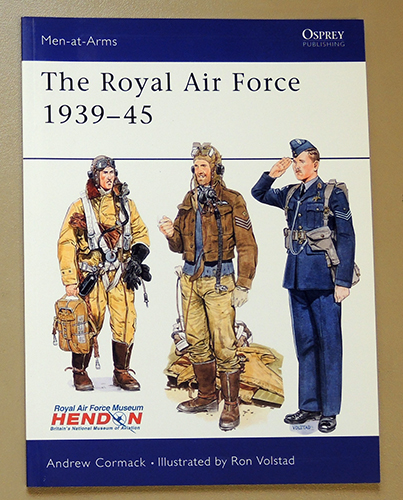 Image for Osprey Men-at-Arms Series No.225: The Royal Air Force (RAF) 1939-45