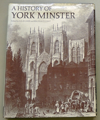 Image for A History of York Minster