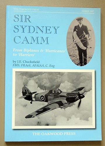 Image for X Series X97: Sir Sydney Camm: From Biplanes & 'Hurricanes' to 'Harriers'