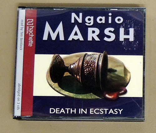 Image for Death In Ecstasy (3 CD Audiobook)