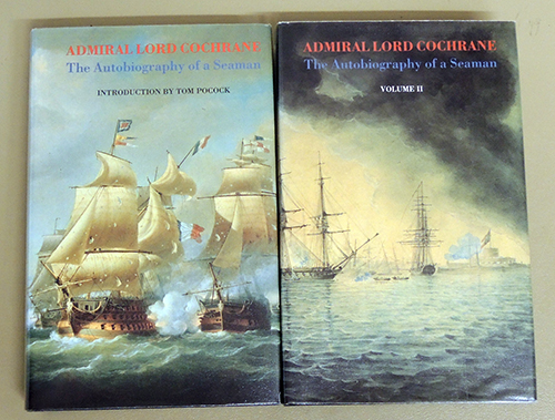 Image for Admiral Lord Cochrane: The Autobiography of a Seaman. 2 Volume Set.