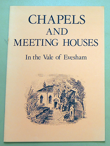 Image for Chapels and Meeting Houses in the Vale of Evesham
