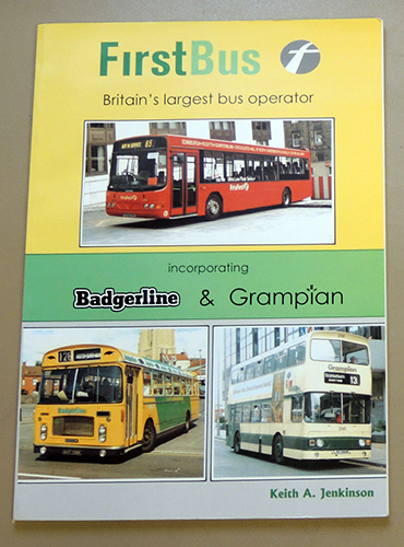 Image for FirstBus (First Bus): Britain's Largest Bus Operator. Incorporating Badgerline and Grampian