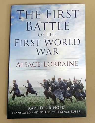 Image for The First Battle of the First World War: Alsace - Lorraine