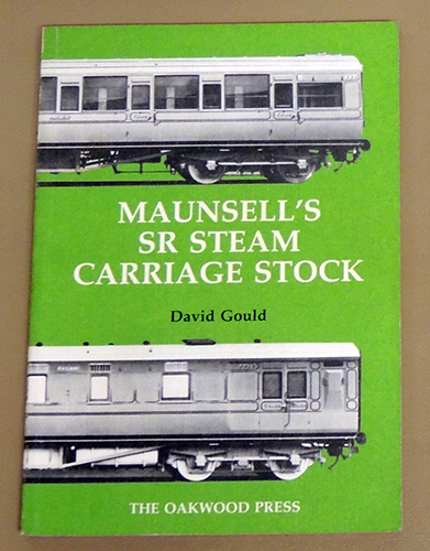 Image for Series X37: Maunsell's SR Steam Carriage Stock