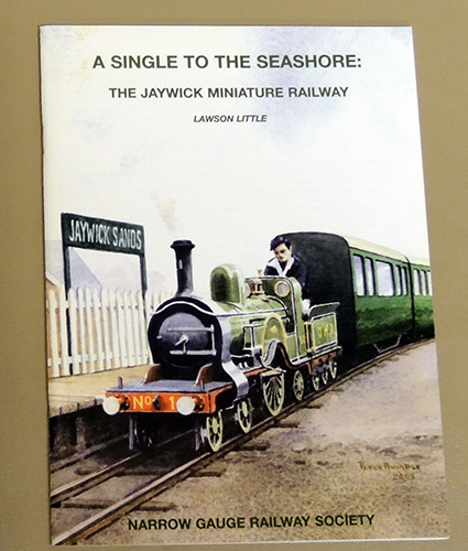 Image for A Single to the Seashore: The Jaywick Miniature Railway