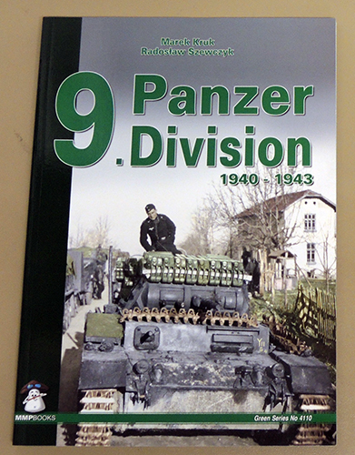 Image for 9th Panzer Division: 1940 - 1943 (Green Series No. 4110)
