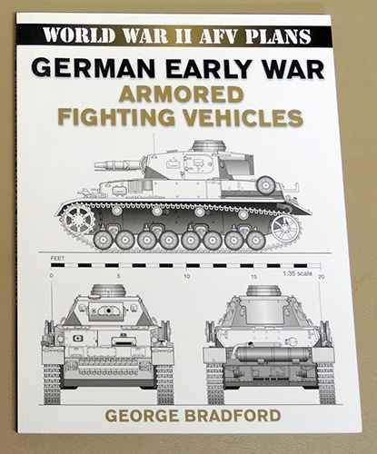 Image for German Early War Armored (Armoured) Fighting Vehicles: World War II (AFV Plans)